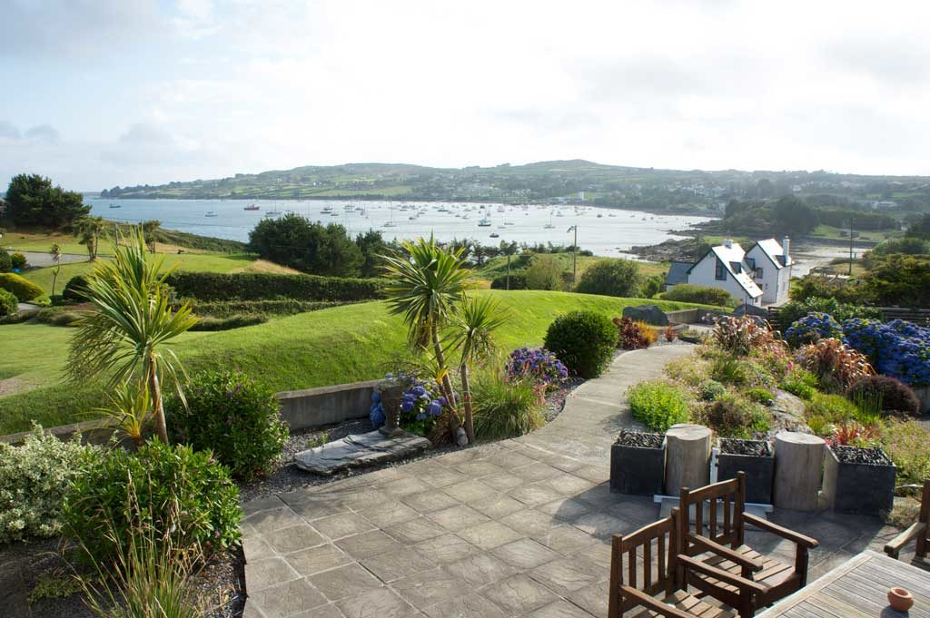Garden with a view schull