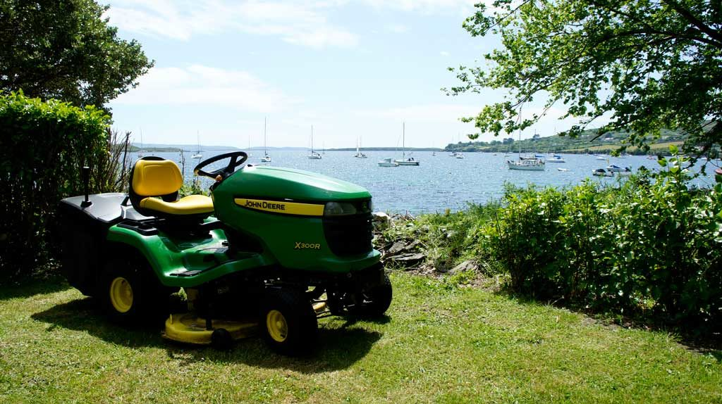 John Deere ride on Schull West Cork
