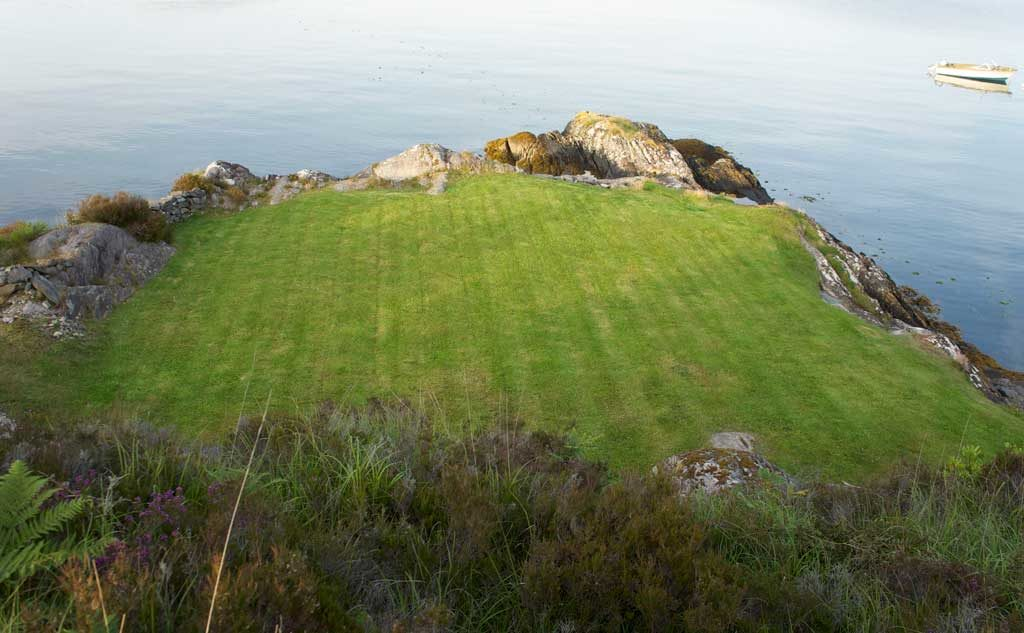 Lawn with sea view Schull
