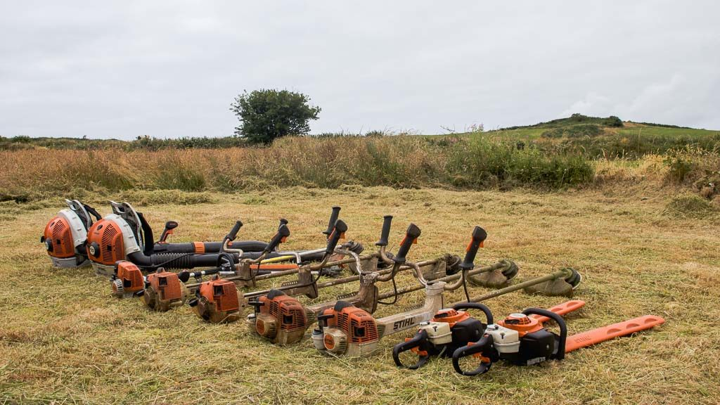 O'Briens Landscaping and Lawn Care Stihl equipment