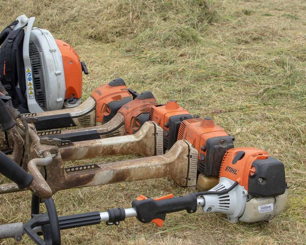 O'Briens Landscaping and Lawn cares stihl strimmers